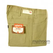 LEVI'S BIGE STA-PREST TAPERED PANTS( W31/DEADSTOCK )