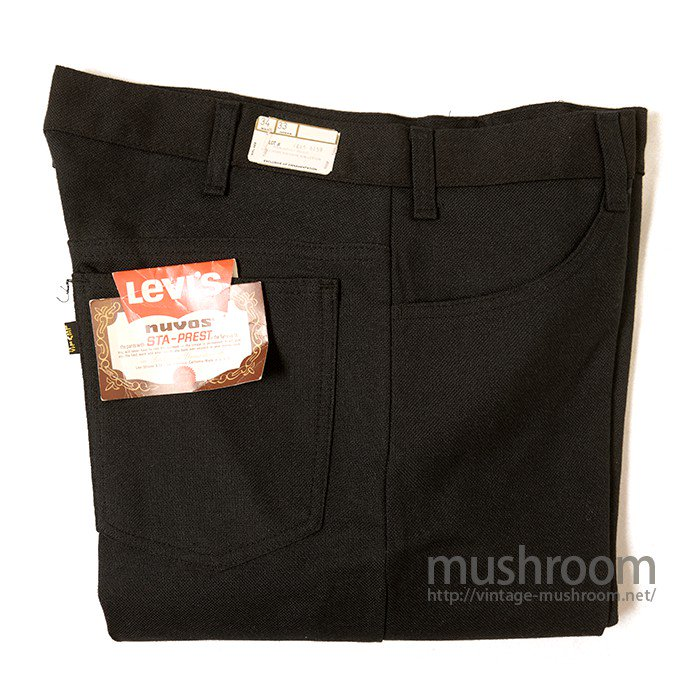 LEVI'S BIGE STA-PREST TAPERED PANTS( W34/DEADSTOCK )