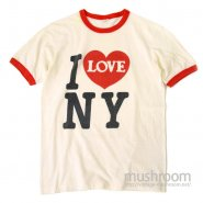 I LOVE NEW YORK RINGER T-SHIRT