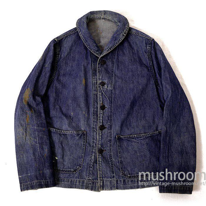 WW2 U.S.NAVY DUNGAREE DENIM JACKET WITH STENCIL