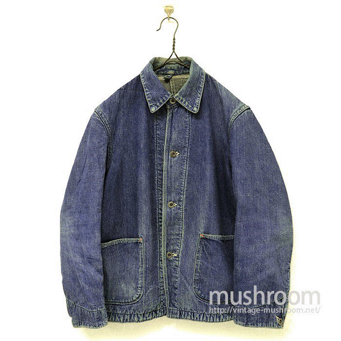 WW2 TWO-POCKET DENIM COVERALL
