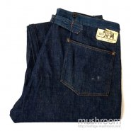 BLACK BEAR BRAND DENIM WAIST-OVERALLS( MINT )