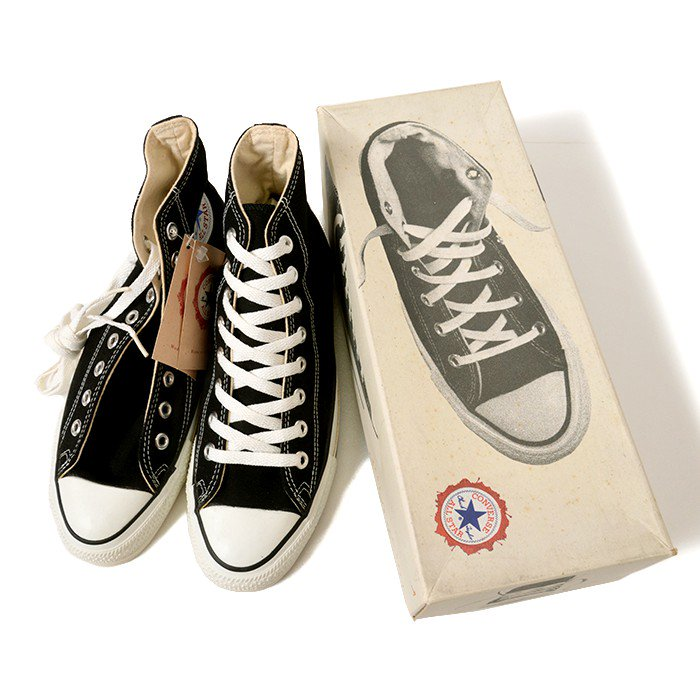 CONVERSE ALL-STAR HI  CANVAS SHOES( 7 1/2/DEADSTOCK )