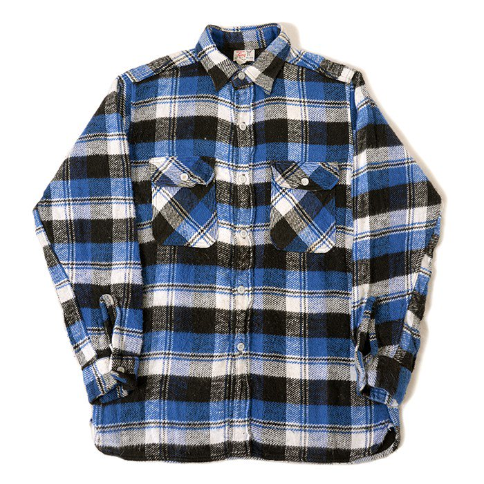 WINTER KING PLAID FLANNEL SHIRT