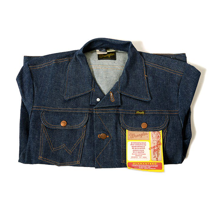 WRANGLER 134MJ DENIM JACKET( 38/LONG/DEADSTOCK )