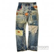 LEVI'S BUSH JEANS( REAL HIPPIE STYLE )