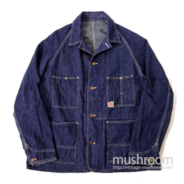 HEAD LIGHT DENIM COVERALL