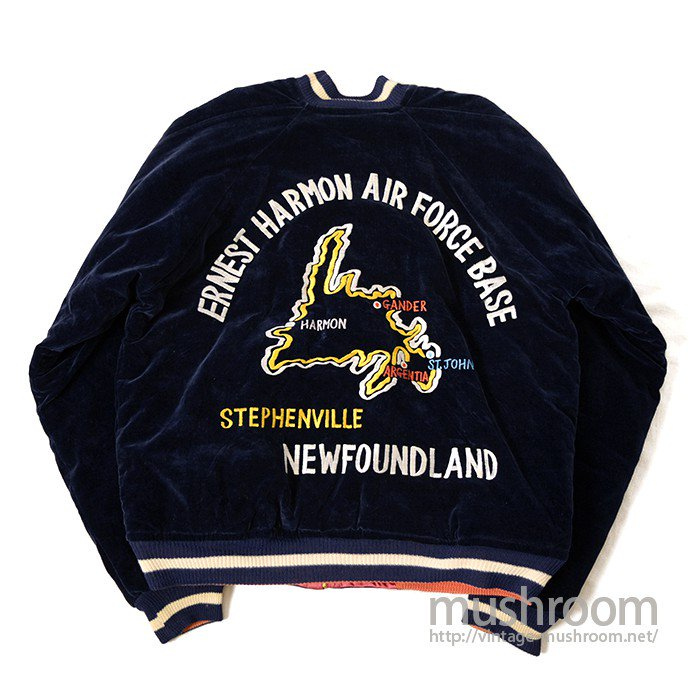JAPAN SOUVENIR JACKET( ERNEST HARMON AIR FORCE BASE/DEADSTOCK )