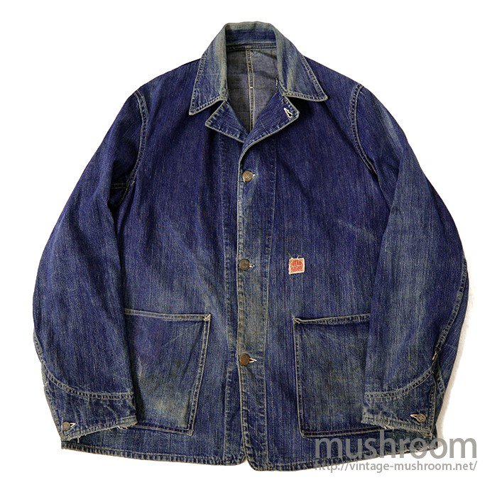 WW2 HEAD LIGHT TWO-POCKET DENIM COVERALL