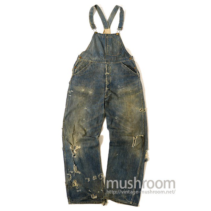 CARHARTT DENIM OVERALLS WITH BUCKLEBUCK