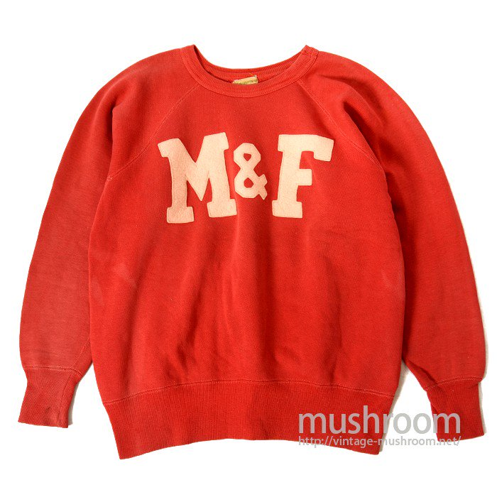 OLD FELT PRINT SWEAT SHIRT