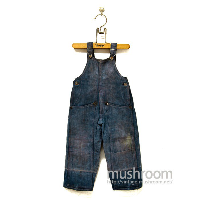 UNDERHILL BRAND DOUBLE-KNEE OVERALLS( KID'S SIZE )