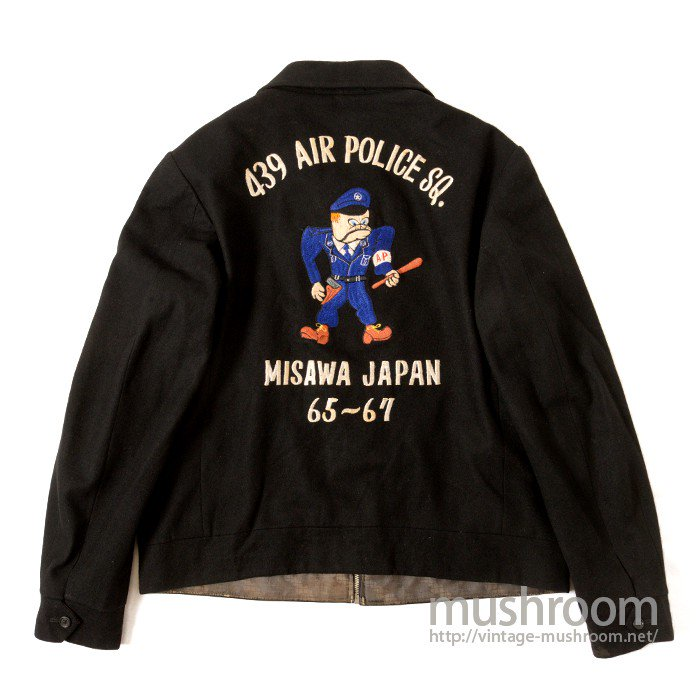 AIR POLICE WOOL SOUVENIR JACKET
