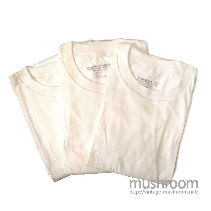 U.S.MILITARY 3PACK BLANK T-SHIRT( DEADSTOCK )