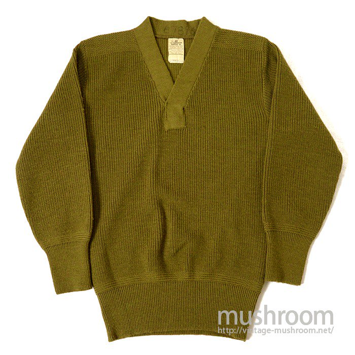 U.S.ARMY AIRFORCE A-1 V-NECK SWEATER