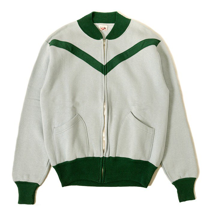 AKOM FULL-ZIP SWEAT SHIRT( MINT )