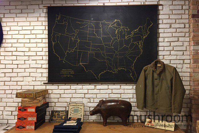 1910's-1920's UNITED STATES MAP