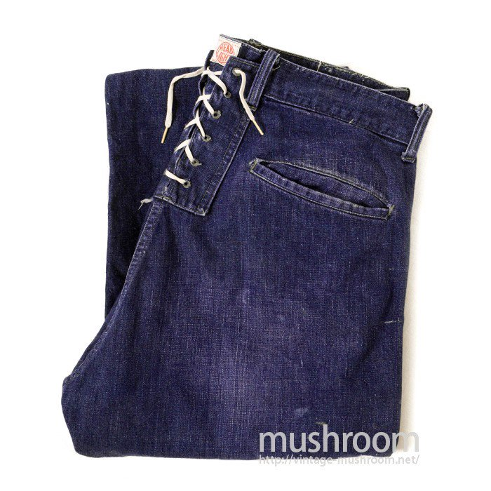 HEAD LIGHT DENIM TROUSER