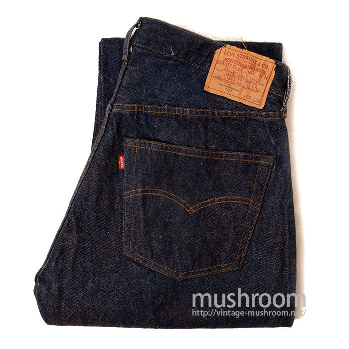 LEVI'S 501 RED LINE JEANS( ONE-WASHED/UNUSED )