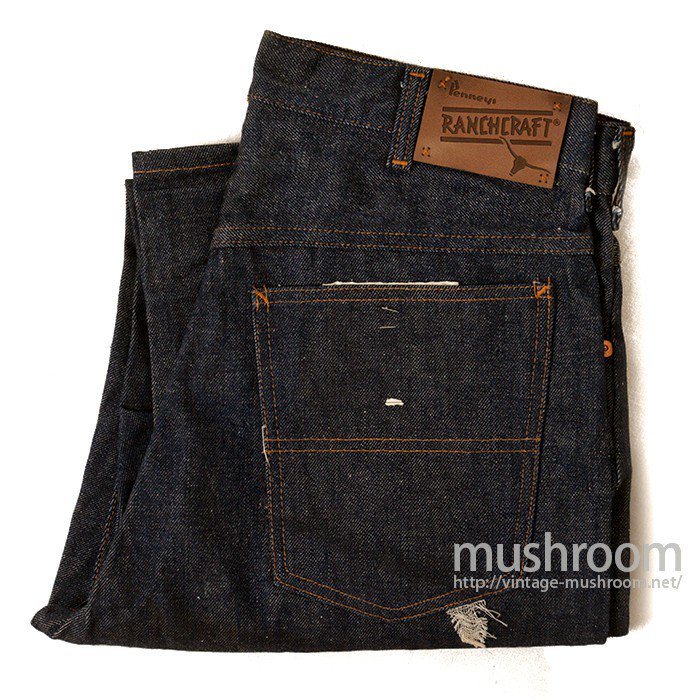 PENNEY'S RANCHCRAFT FIVE-POCKET JEANS( DEADSTOCK )