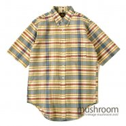 ELDERADO INDIA MADRAS COTTON S/S BD SHIRT