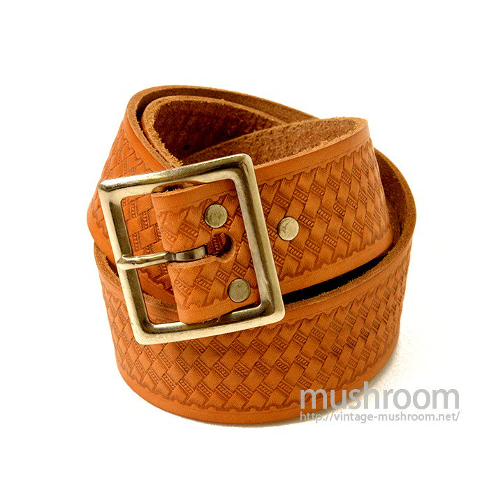 OLD GARRISON LEATHER BELT( DEADSTOCK )