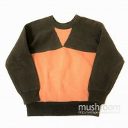 GLENEAGLES SPORTSWEAR W/V TWO-TONE SWEAT SHIRT