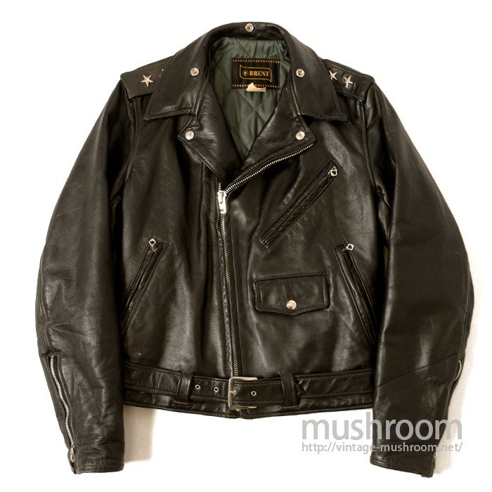BRENT TWO-STAR MOTORCYCLE LEATHER JACKET