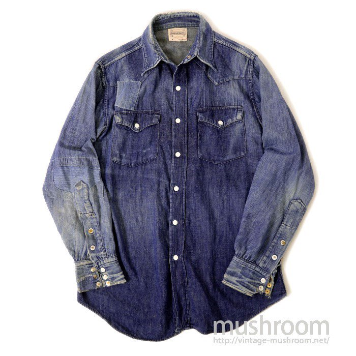 PENNEY'S RANCHCRAFT DENIM SHIRT