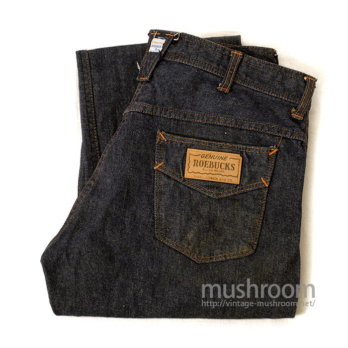 SEARS ROEBUCKS FIVE POCKET JEANS