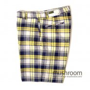 DEECEE MADRAS PLAID COTTON SHORTS( DEADSTOCK )