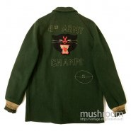 4TH ARMY CHAMPS LETTERMSN WOOL JACKET