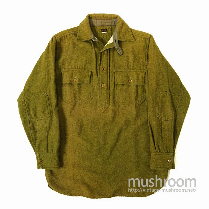 WW1 U.S.ARMY PULLOVER WOOL SHIRT( MINT )