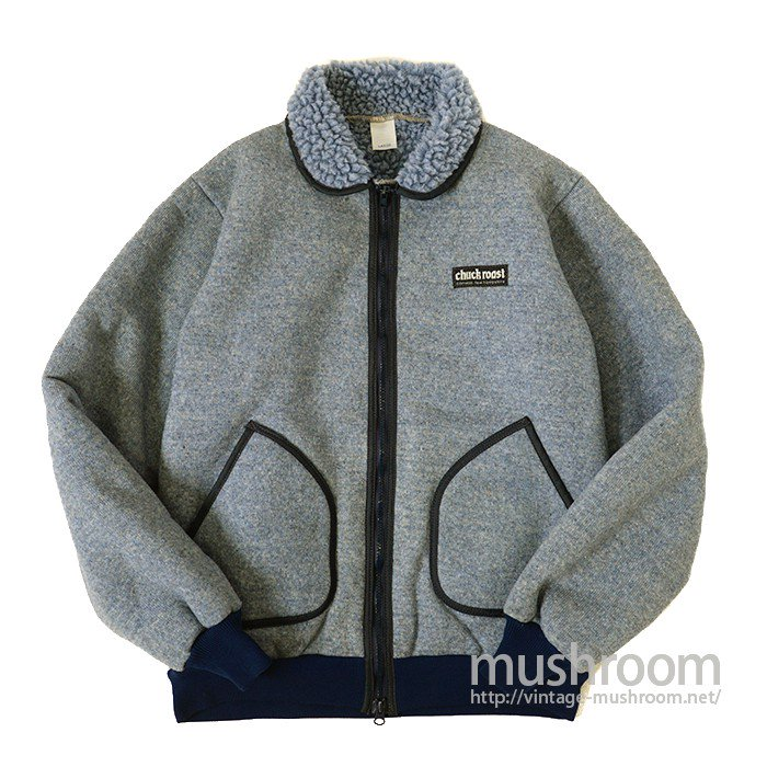 CHUCK ROAST PILE JACKET( MINT )