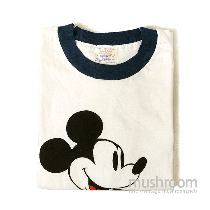 OLD MICKEY MOUSE RINGER-TEE( DEADSTOCK )
