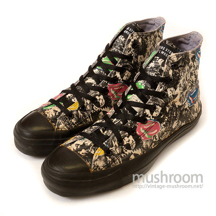 CONVERSE ALL-STAR HI CANVAS SHOE( THE ROLLING STONES )