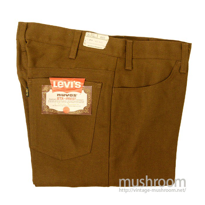 LEVI'S BIGE STA-PREST TAPERED PANTS( DEADSTOCK )