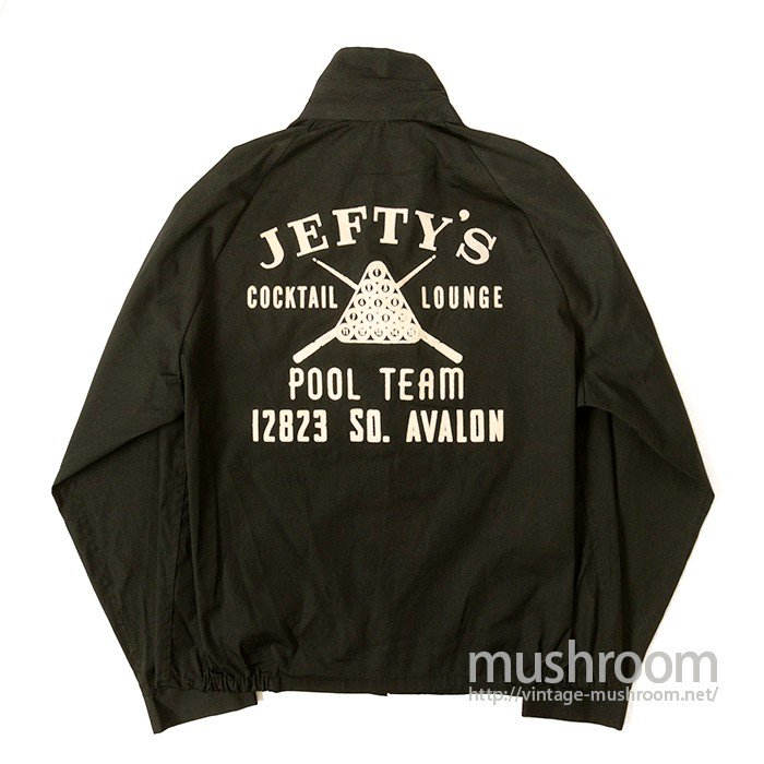 JEFTY'S POOL TEAM CLUB JACKET( DEADSTOCK )