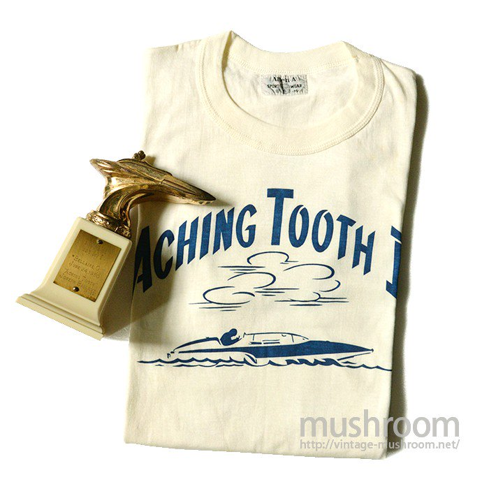 OLD BOATRACE T-SHIRT WITH TROPHY