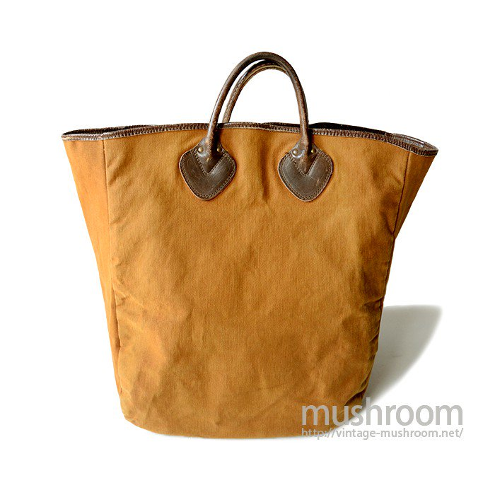 L.L.BEAN BROWN CANVAS TOTE BAG