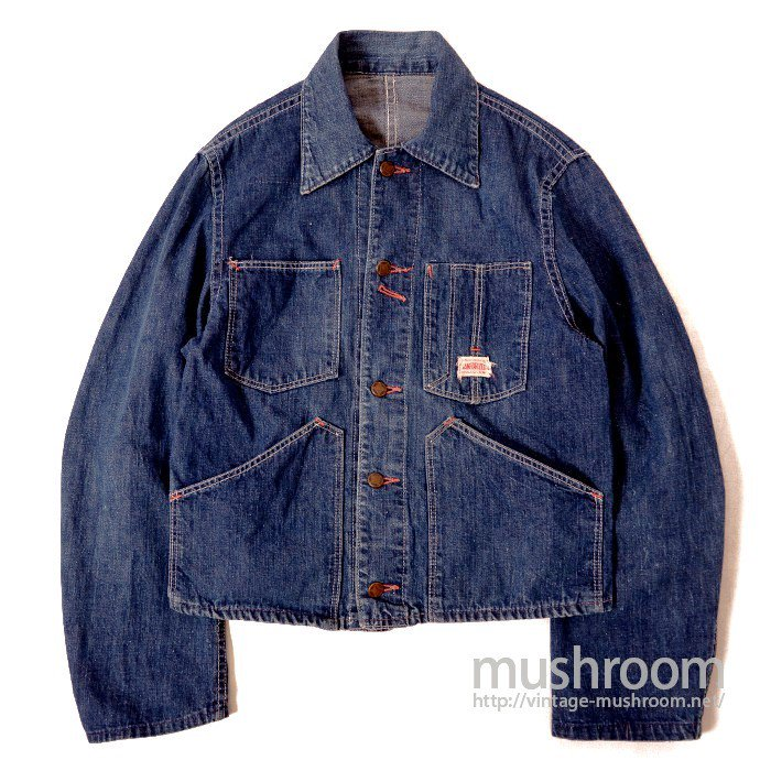 OLD DENIM ENGINEER JACKET