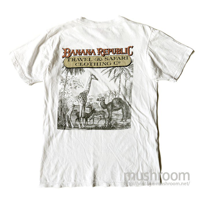BANANA REPUBLIC POCKET T-SHIRT