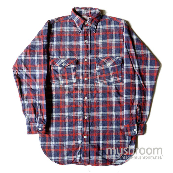 WINTER WEAR PLAID FLANNEL SHIRT( ONE WASHED/UNUSED )