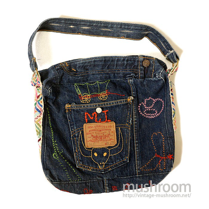LEVI'S CUSTOM DENIM BAG