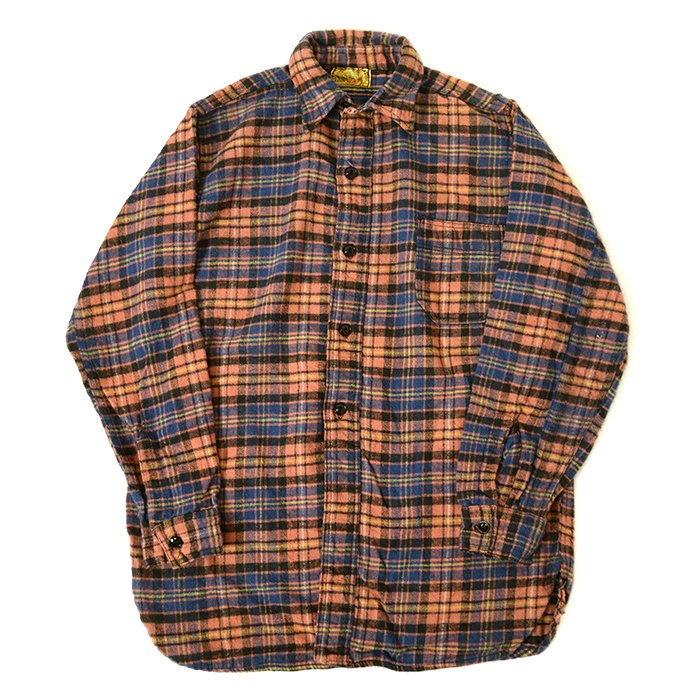 FROST PROOF PLAID FLANNEL SHIRT( ONE WASHED/UNUSED )