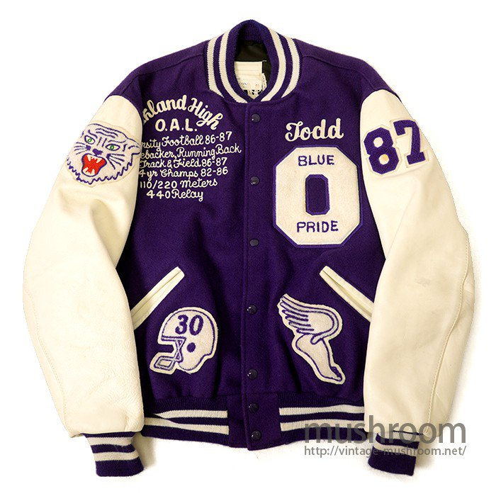 DELONG FULL-LETTER AWARD JACKET