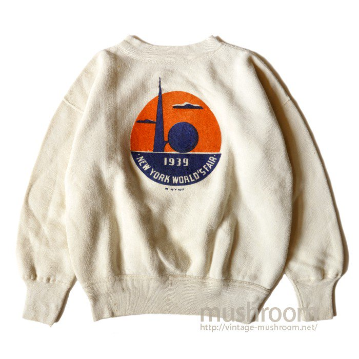 PERRY NY WORLD FAIR SOUVENIR SWEAT SHIRT( MINT )