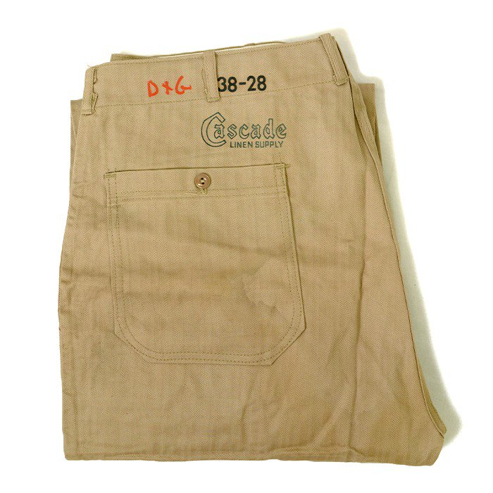 CASCADE HBT WORK TROUSER( DEADSTOCK )