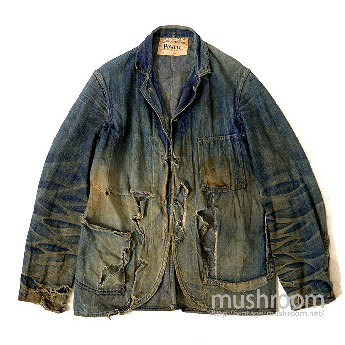 POWELL DENIM COVERALL