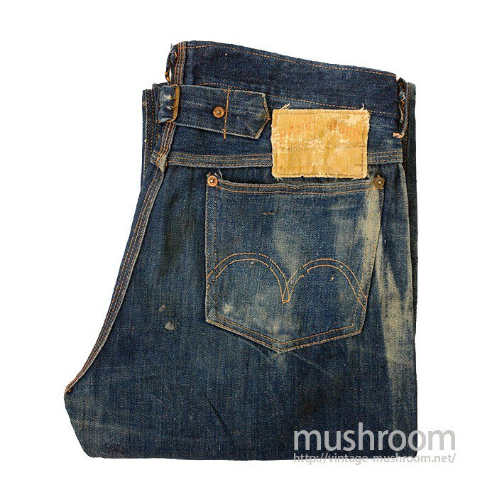RANGE RIDER DENIM WORK PANTS WITH BUCKLE BACK